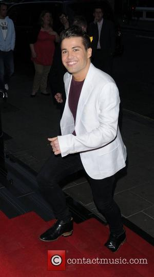 Joe McElderry  David Gest and Patsy Palmer joint birthday party at the Grand Connaught Rooms to raise money for...