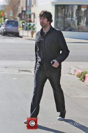 David Schwimmer  seen leaving kings road cafe after having breakfast with friends Los Angeles, California - 17.01.12