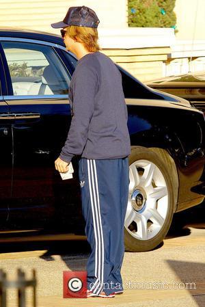 David Spade David Spade returns to his car after shopping at Barneys New York  Featuring: David Spade Where: Los...