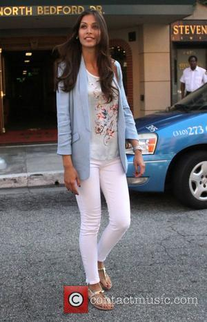 Dayana Mendoza leaves a doctors office in Beverly Hills Los Angeles, California - 10.05.12