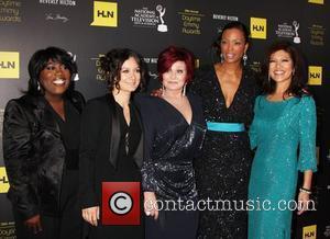 Sheryl Underwood, Sara Gilbert, Sharon Osbourne, Aisha Tyler, Julie Chen 39th Daytime Emmy Awards - Arrivals Beverly Hills, California -...