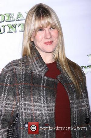 Lily Rabe from the TV show 'American Horror Story' at the premiere of 'Dead Accounts' at the Music Box Theatre...