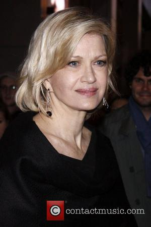 Diane Sawyer  Broadway opening night of 'Death Of A Salesman' at the Ethel Barrymore Theatre - Departures.  New...