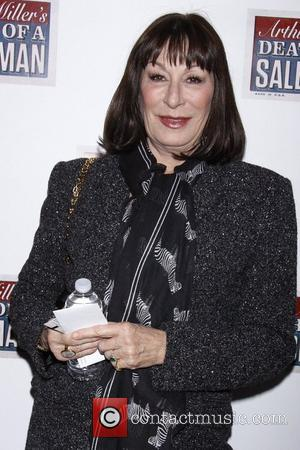 Anjelica Huston  Broadway opening night of 'Death Of A Salesman' at the Ethel Barrymore Theatre - Arrivals.  New...