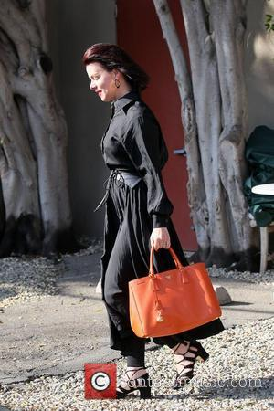 Debi Mazar leaving Kate Somerville Skin Care Clinic in West Hollywood Los Angeles, California - 20.02.12