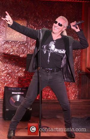Dee Snider from 'Twisted Sister' at the press preview of upcoming concerts at '54 Below' night club. New York City,...