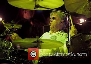 Ian Paice of Deep Purple performing at Manchester MEN Arena on their UK tour  Manchester, England - 29.11.11