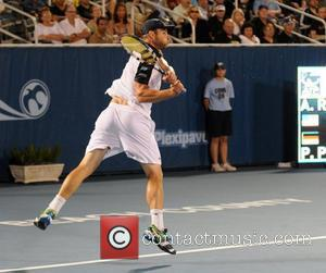 Andy Roddick  participates in the Delray Beach International Tennis Championships  Delray Beach, Florida - 28.02.12