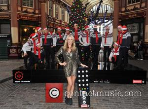 Denise, Outen, Christmas, Britain's Got Talent, Blue and Leadenhall Market