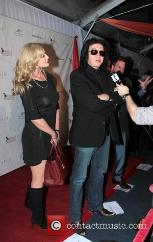 Gene Simmons; Shannon Tweed 'Derby Prelude Charity Party' at the London Hotel  Featuring: Gene Simmons, Shannon Tweed Where: Los...