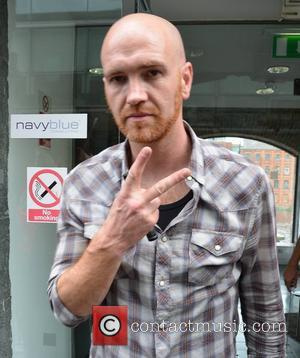 Mark Sheehan of The Script Amanda Byram & The Script were guests on the 'Dermot & Dave Show' on 98FM...