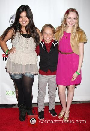 Madison De La Garza, Mason Vale Cotton, Darcy Rose Byrnes 'Desperate Housewives' finale party held at the W Hotel Los...