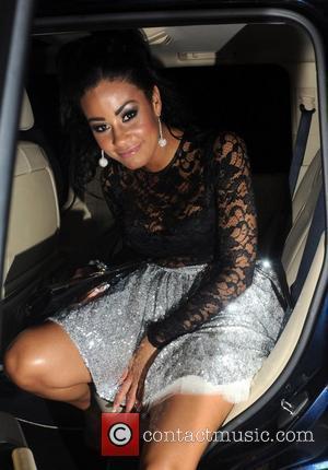 'Desperate Scousewives' star Layla Flaherty leaves Anaya nightclub London, England - 20.01.12