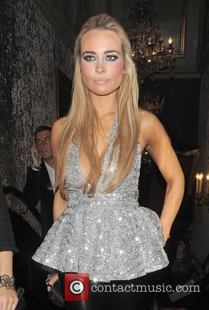 'Desperate Scousewives' star Amanda Harrington leaving Cafe De Paris Nightclub. London, England - 22.01.12