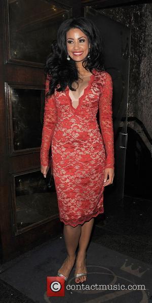 'Desperate Scousewives' star Layla Flaherty leaving Cafe De Paris Nightclub. London, England - 22.01.12
