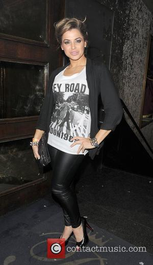 Glamour model Louise Glover leaving Cafe De Paris Nightclub. London, England - 22.01.12