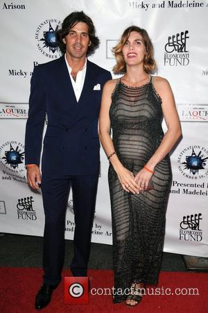 Nacho Figueras and wife Delfina Blaquier  attends  Destination Fashion 2012 To Benefit The Buoniconti Fund To Cure Paralysis...