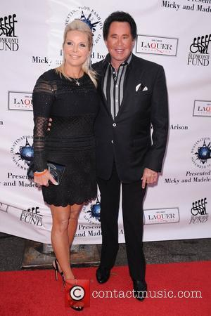 Wayne Newton (R) and wife Kathleen McCrone attends  Destination Fashion 2012 To Benefit The Buoniconti Fund To Cure Paralysis...