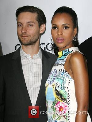 Kerry Washington and Toby Maguire