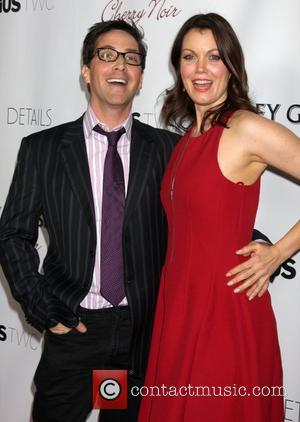 Dan Bucatinsky and Bellamy Young  Los Angeles Premiere of