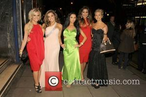 Guest, Louise Glover, Tashie Jackson, Layla Flaherty and Maisy James UK film premiere of 'Deviation' held at the Odeon Covent...