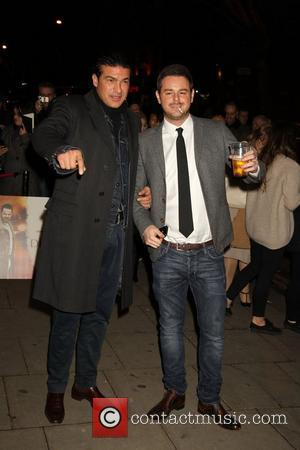 Tamer Hassan and Danny Dyer UK film premiere of 'Deviation' held at the Odeon Covent Garden - Arrivals London, England...