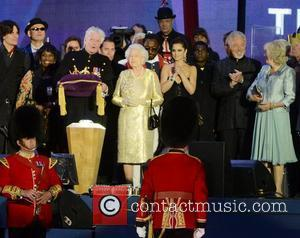 Queen Elizabeth II, Buckingham Palace, Cheryl Cole and Tom Jones