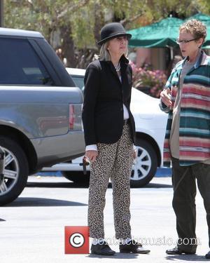 Diane Keaton leaving Starbucks in Malibu. Los Angeles, California - 26.05.12