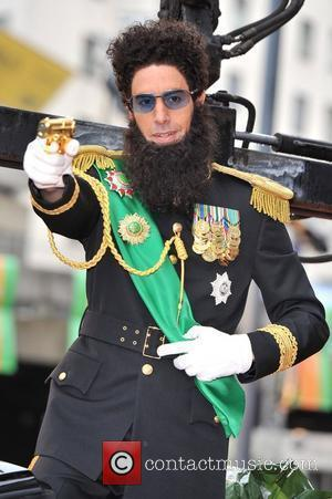 Sacha Baron Cohen and Royal Festival Hall