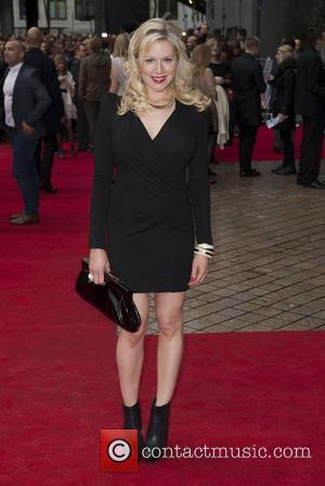 Abi Titmuss UK premiere of 'The Dictator' held at the Royal Festival Hall - Arrivals London, England - 10.05.12