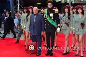 Mohammed Al Fayed, Sacha Baron Cohen and Royal Festival Hall