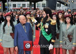 Sacha Baron Cohen, Mohammed Al Fayed and Royal Festival Hall