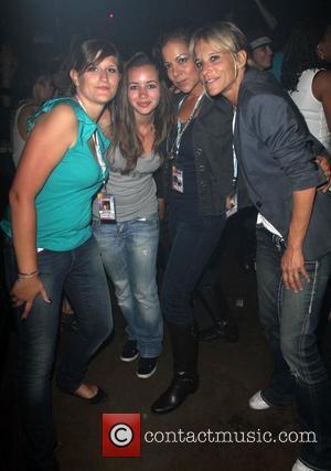 Mona Elyafi and Guests Dinah Shore 'Club Skirt' 2012 held at Zeldas - Day3 - Closing Night Palm Springs, California...