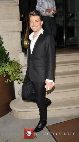 Joe McElderry attends Dine With Pride - Gala Dinner held at The Langham Hotel ,  London, England - 05.07.12
