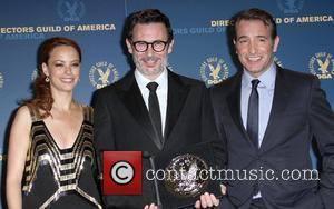 Berenice Bejo, Michel Hazanavicius and Jean Dujardin 64th Annual Directors Guild of America Awards held at The Grand Ballroom -...