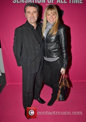 Martin King and Jenny McCarthy Irish premiere of Dirty Dancing - The Classic Story on Stage at The Grand Canal...