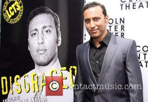 Aasif Mandvi  attending the opening night party for the Lincoln Center Theater/LCT3 production of 'Disgraced', held at the Claire...