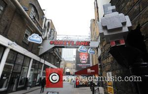 "Disney has transformed one iconic street into an 80's video game. ""8 Bit Lane"" in London's Brick Lane has been..."