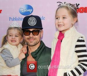Joey Lawrence, family Red Carpet Premiere of 'Sofia The First' held at The Walt Disney Studios  Burbank, California -...