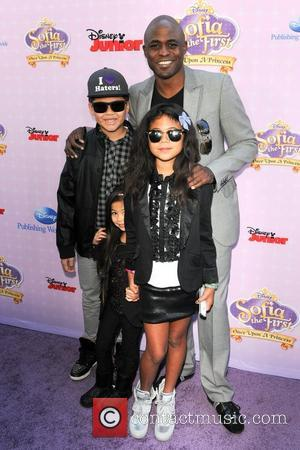Wayne Brady, family  Red Carpet Premiere of 'Sofia The First' held at The Walt Disney Studios  Burbank, California...