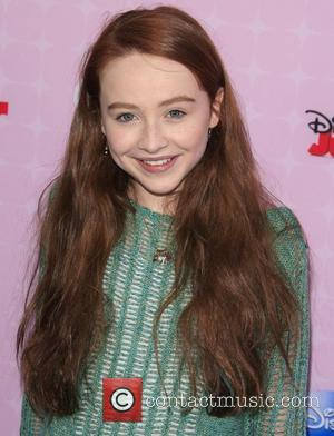Sabrina Carpenter Los Angeles premiere of Disney Channel's 'Sofia The First: Once Upon a Princess' at The Walt Disney Studios...