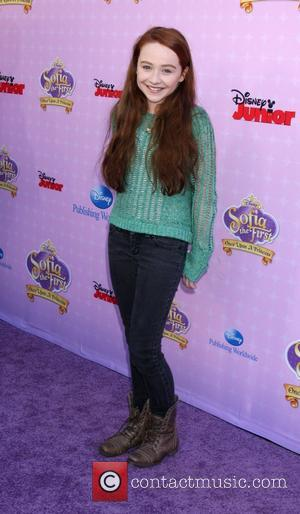 Girl Meets World Actress Sabrina Carpenter Red Carpet Premiere of 'Sofia The First'