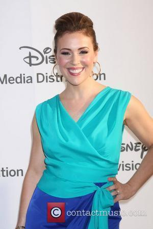 Alyssa Milano ABC/Disney International Upfronts held at Walt Disney Studios Lot Burbank, California - 20.05.12
