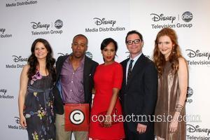Katie Lowes, Columbus Short, Kerry Washington, Joshua Malina, Darby Stanchfield ABC/Disney International Upfronts held at Walt Disney Studios Lot Burbank,...