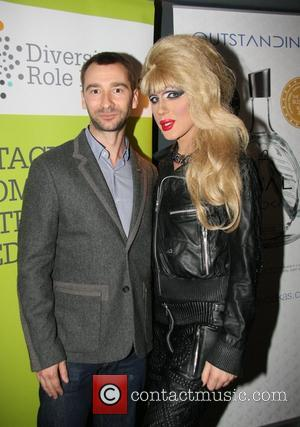 Charlie Condou and Jodie Harsh  at the Diversity Role Models event Paramount, Centre Point,  London, England - 25.10.12