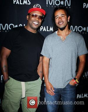 D J Jazzy Jeff, Chris Kilmore D J Jazzy Jeff arrives to perform at Moon Nightclub at Palms Casino Resort...