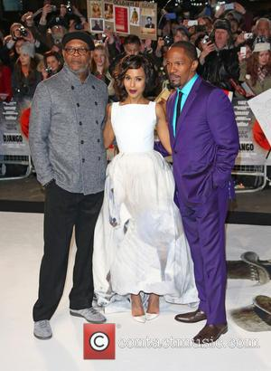 Samuel L. Jackson, Kerry Washington, Jamie Foxx and Empire Leicester Square