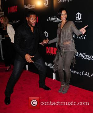 The Premiere of 'Django Unchained' held at the Ziegfeld Theatre  Featuring: Michael Strahan