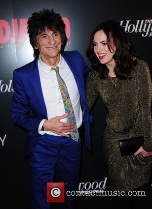 Ronnie Wood, Sally Humphries and Ziegfeld Theatre