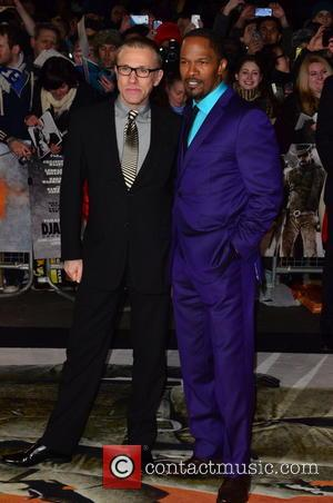 Christoph Waltz; Jamie Foxx The UK premiere of 'Django Unchained' held at the Empire Leicester Square - Arrivals  Featuring:...